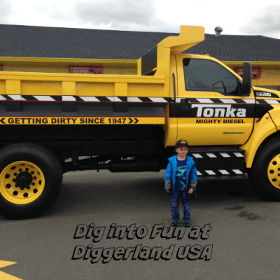 Dig into Fun at Diggerland