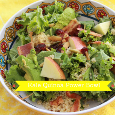 Kale Quinoa Power Bowl