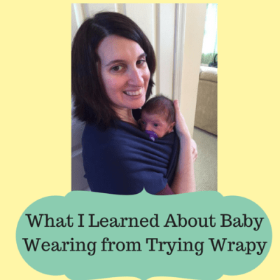 What I Learned About Baby Wearing From Trying Wrapy
