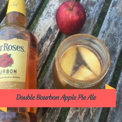 Four Roses Double Bourbon Apple Pie Ale