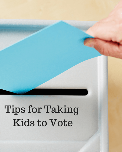 Taking Kids to Vote: Tips for Bringing Kids to the Ballot Box