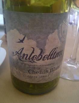Antebellum Chenin Blanc 2012
