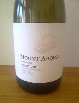 Mount Abora Koggelbos Chenin Blanc 2011