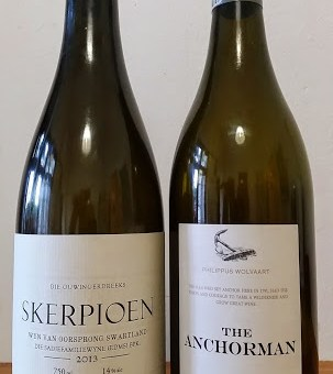 The Old Vine Series Skerpioen 2013 vs Nederburg Heritage Heroes The Anchorman 2012