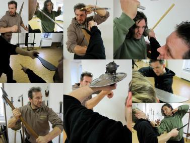 IAW Escrima Combat Weapon Training