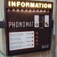 Ein Informations-Telefon im Wiener Stephansdom
