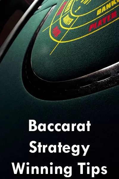 strategy baccarat