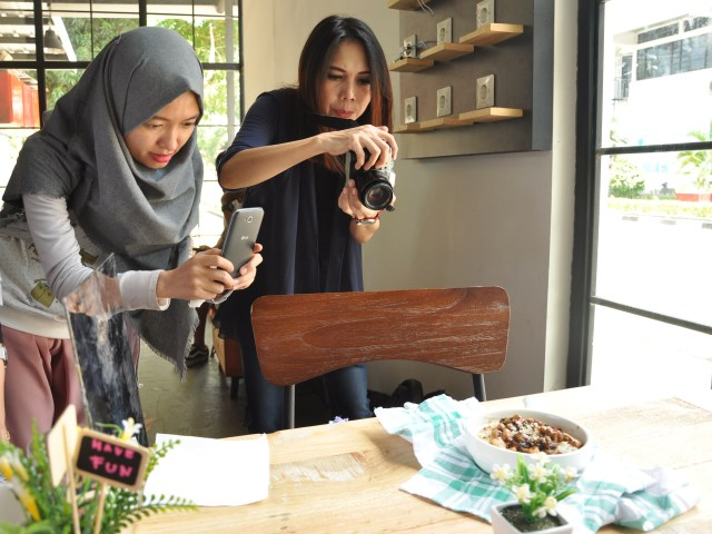 workshop food photography di Poin House