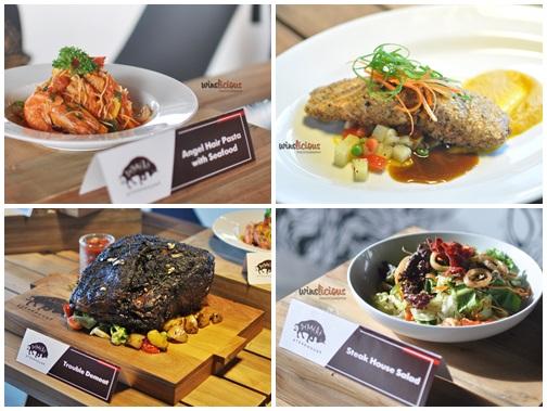 Beberapa menu dari DeMeat Steak House