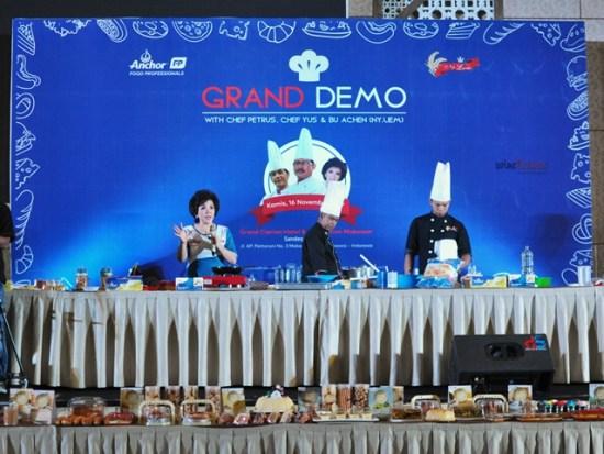 Grand Demo AFP di Makassar