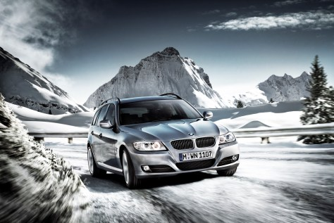 BMW 3 Series Snow