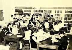 classroom photo b/w