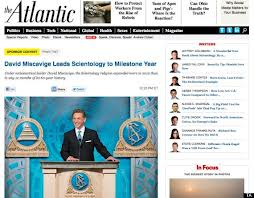 The controversial Scientology sponsor content.