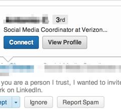 Dear LinkedIn: UI help desperately needed