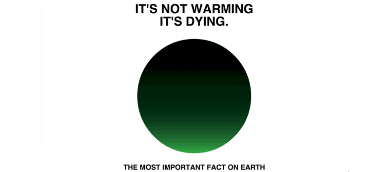 it's not warming