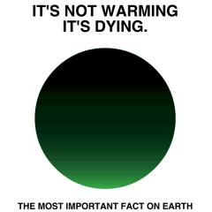 Graphic designer launches social media campaign around global warming