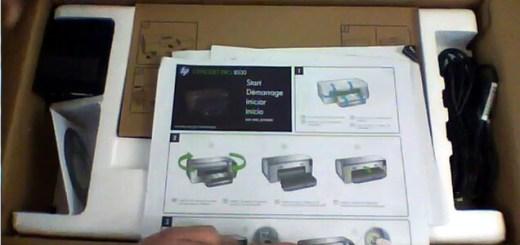 HP OJp 8100 ePrinter Open Box