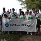 Konica Minolta Singapore Beach Cleanup Crew