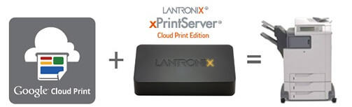 lantronix  xprint server cloud edition