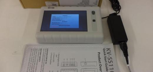 Panasonic KV-SS1100 Network Scanner