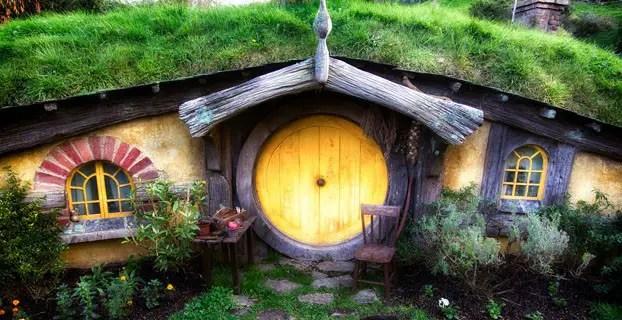 rumah hobbit farmhouse lembang bandung farm house di