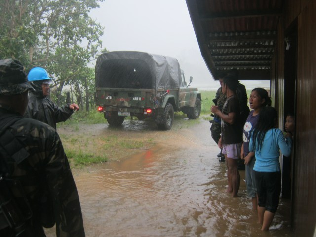 Philippine Army Rescue Operations