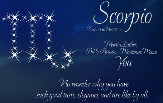 scorpio birthday wishes