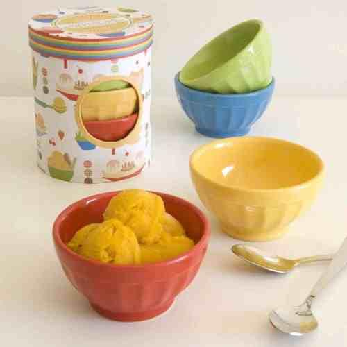 Medium Of Ice Cream Bowls
