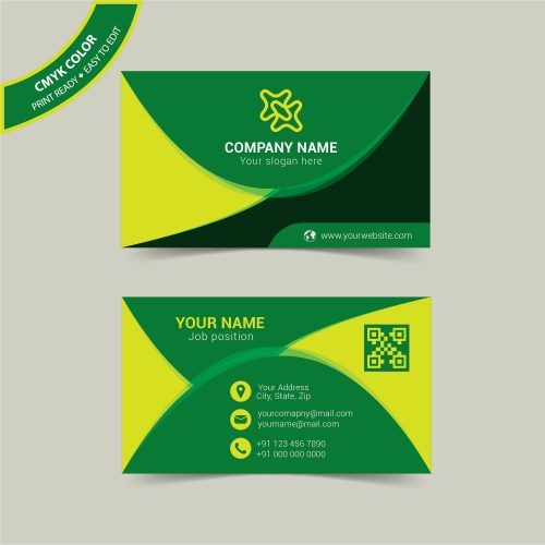 Medium Of Personal Business Cards