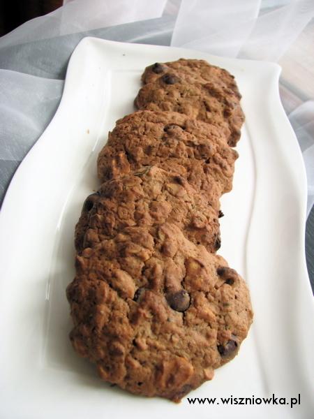 czekoladowe ciasteczka z cukinią