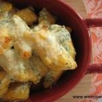 Gnocchi dyniowe zapiekane w sosie ziołowo-serowym