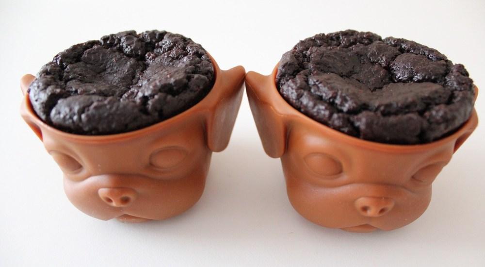 czekoladowe muffinki jaglane