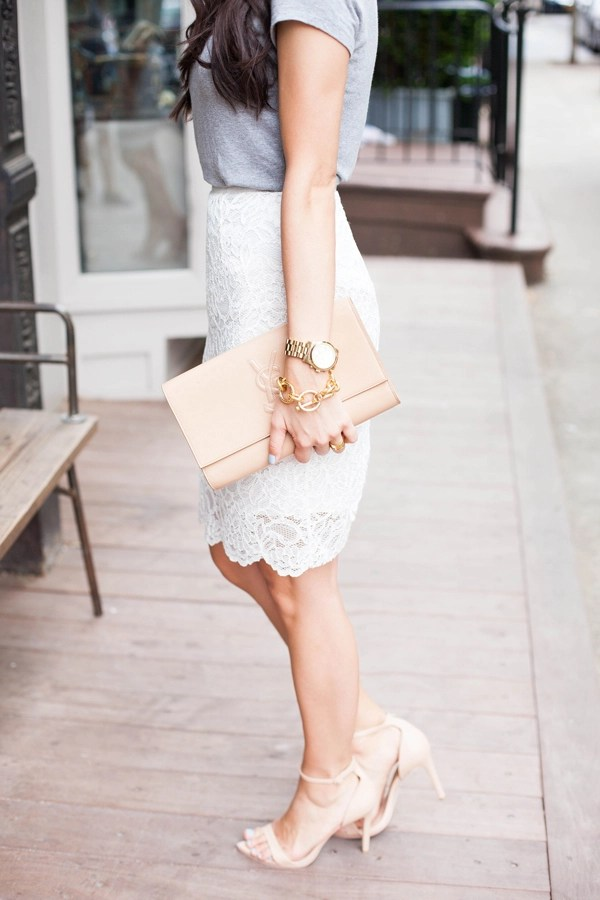 White Skirts. Narrow by Skirt Length. Short. Knee Length. High Low. Long. Below the Knee. Midi. Filter; Thalia Sodi Floral-Print Pencil Skirt, Created for Macy's Nine West Plus Size Eyelet Lace A-Line Skirt LAST ACT $