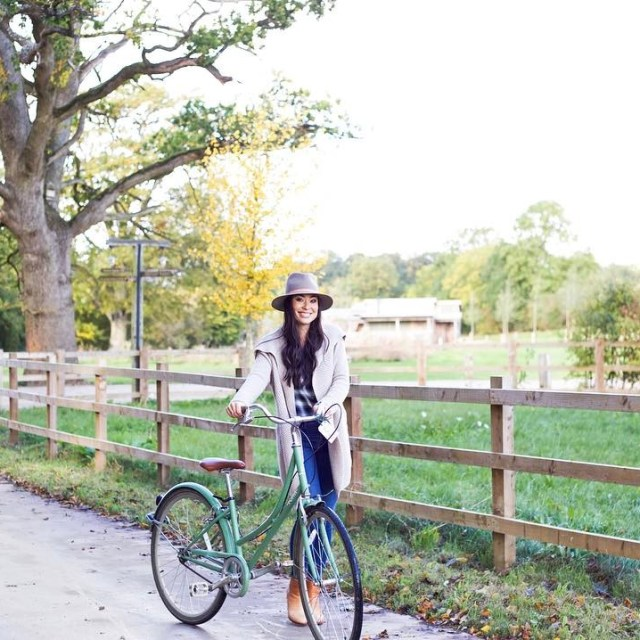 Weekend bike rides make me one happy gal countryside cozyhellip
