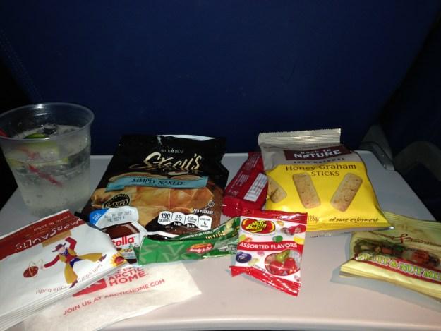 My snacks...