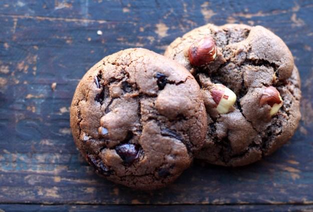 Chocolate Hazelnut Cookies
