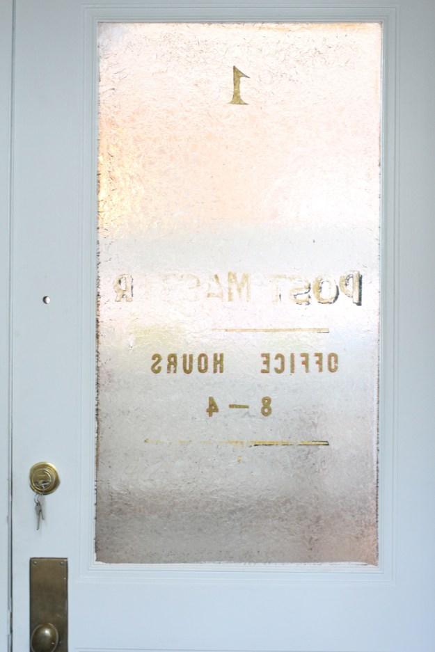 Post Office Door