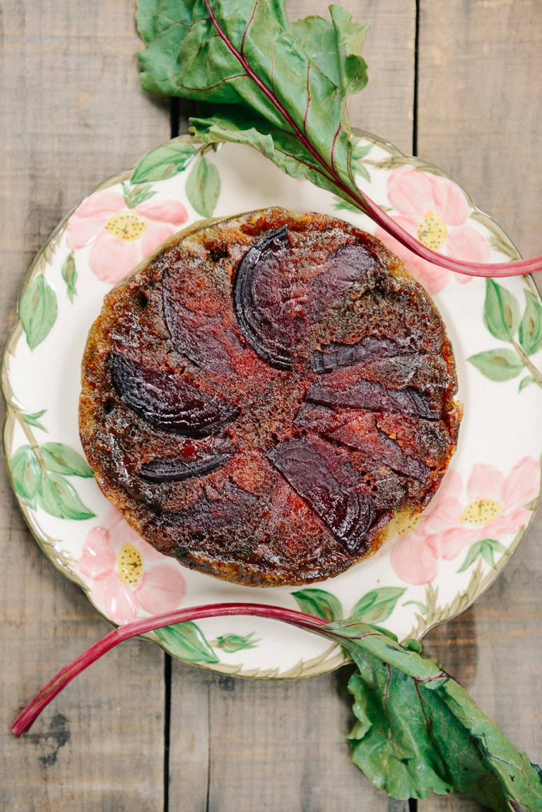 The Urban Farmer's Dirty Thirty | Part II: Beet Upside Down Cake