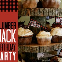 A Lumberjack Birthday Party for Moose