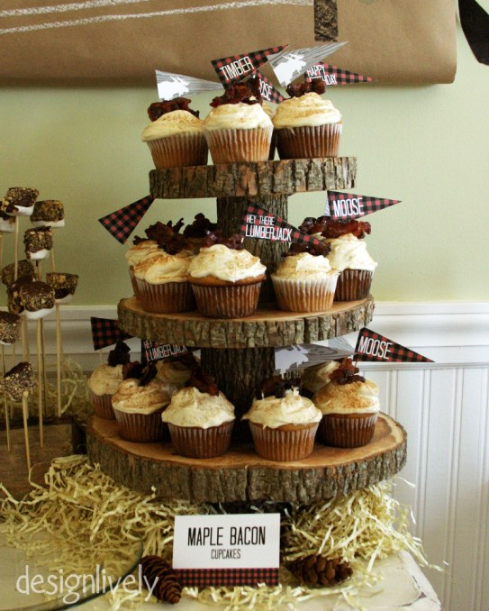 A Lumberjack Birthday Party