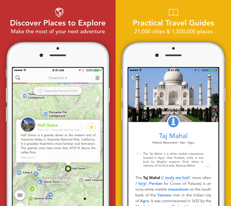 Discover places to explore and learn about your destination