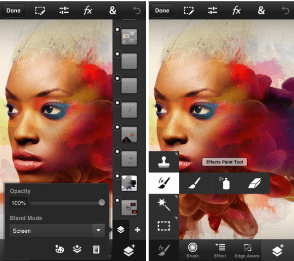 Photoshop Fix brings powerful photo-editing tools to your phone for free.