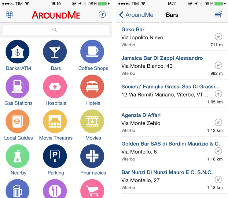 AroundMe - A Must-Have Travel Assistant