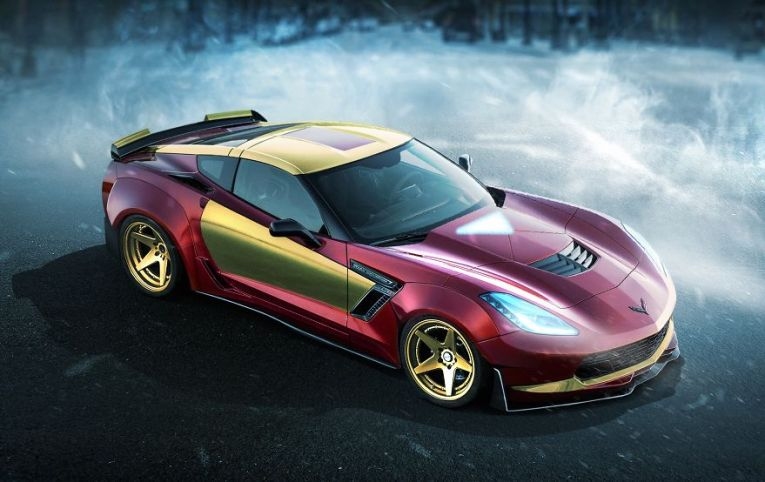 Iron Man – Chevrolet Corvette Z06