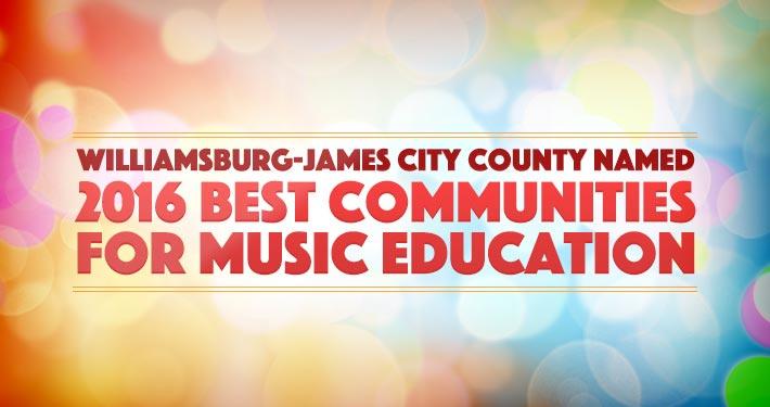 WJCC Named Best Communities for Music Education