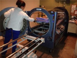 Hyperbaric Chamber at the Wound Healing Center