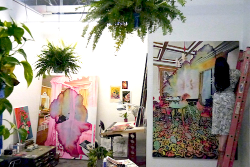 The Ubiquitous Gaze of the Wallflower   The Paintings of Ariana Papademetropoulos