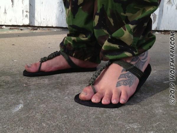 Paracord Sandals