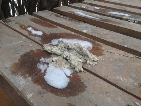 Avoid mystery materials which are stuck on wooden skids