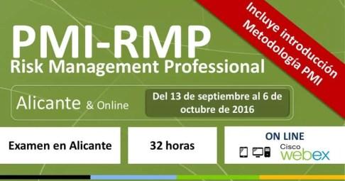 RMP curso risk septiembre 2016